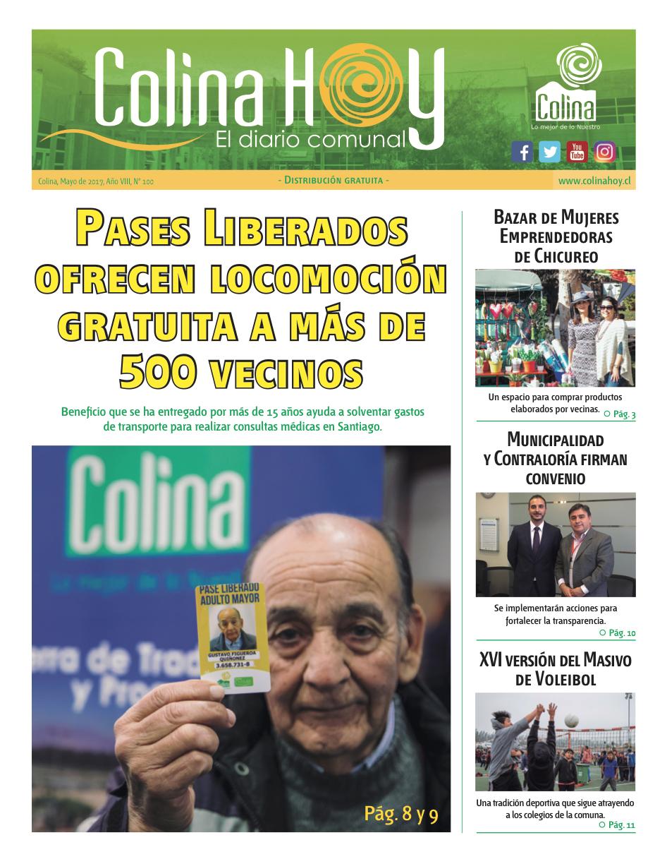 Colina Hoy Edición Nº 100